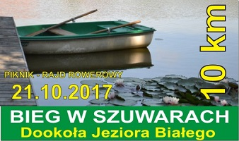 Biegu w Szuwarach – dookoła jeziora Białego