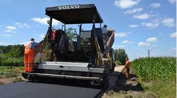 Przebudowa drogi w Przylaskach na długości 697 m.