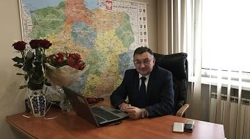 Podziękowania Wójta Gminy Pacyna Krzysztofa Woźniaka