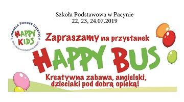 Przystanek HAPPY BUS w Pacynie – Zapraszamy