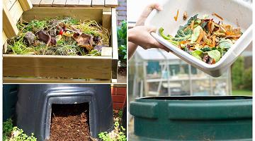 Kompostowanie bioodpadów w kompostowniku przydomowym