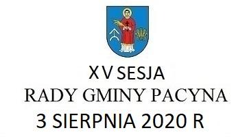 XV Sesja Rady Gmina Pacyna – transmisja na żywo